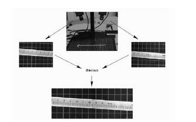多工业相机标定之图像拼接测量